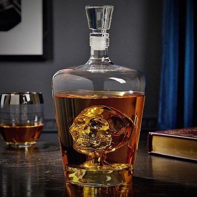 Skull Whiskey Decanter