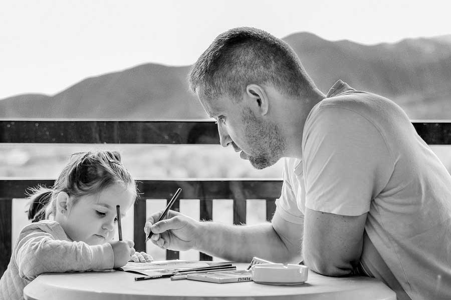Scholarships for Single Fathers girl