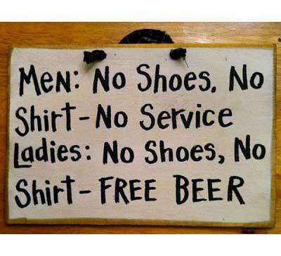 funny clean memes ladies free beer