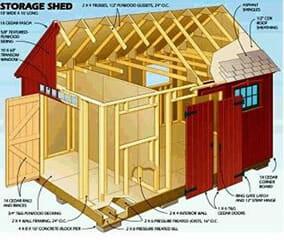 Diy Garden Shed Plans 3d
