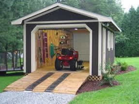 diy garden shed plans open
