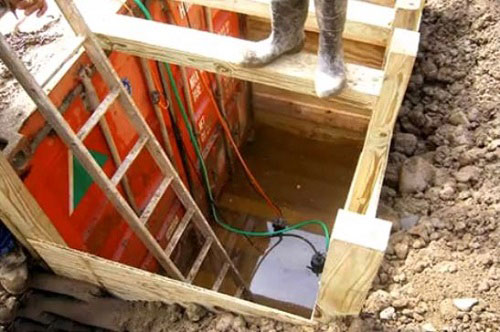 how to build an underground bunker open