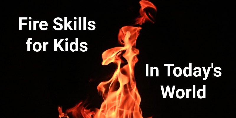 Outdoor Skills for Kids in Todays World
