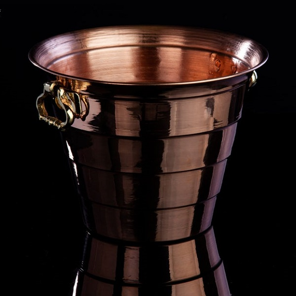 Best Copper Engraved High End Ice Bucket