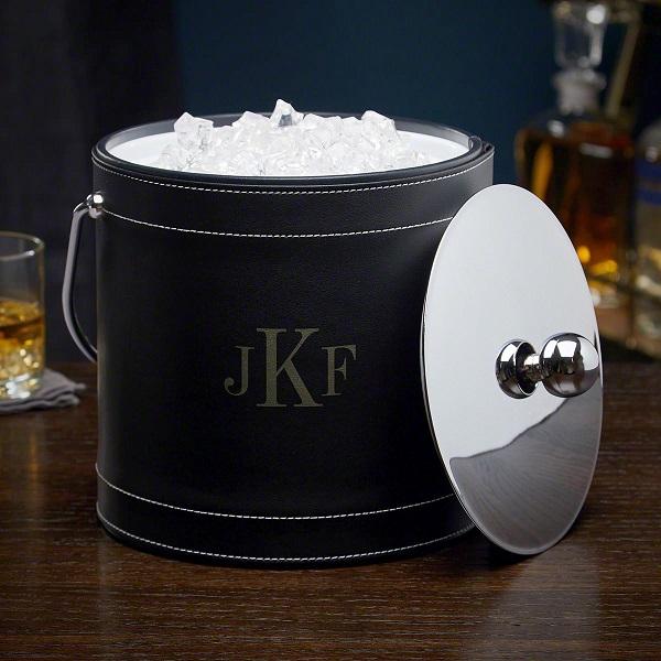 Best High End Ice Buckets in Monogram Black